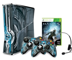 Microsoft Reveal Limited Edition Halo 4 Xbox 360 Console Bundle and Accessories