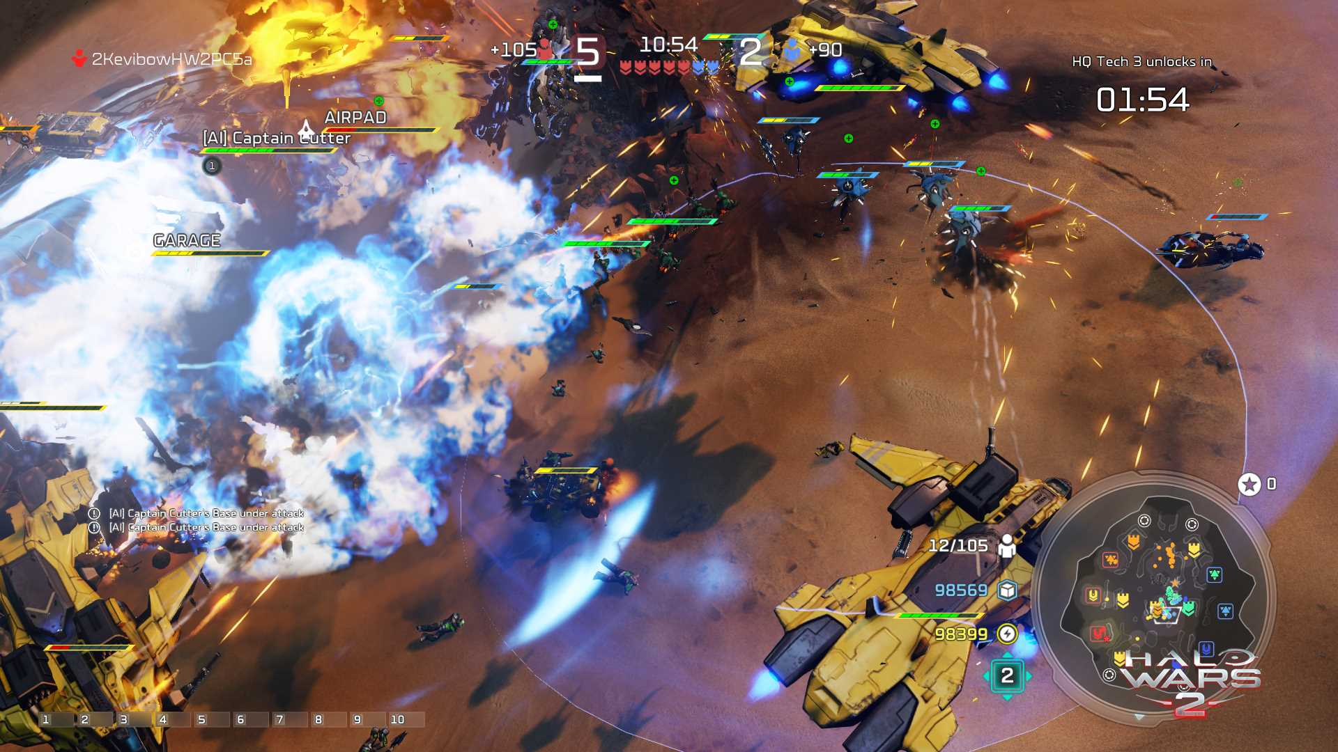 Halo Wars 2 Blitz Mode beta now available on Windows 10