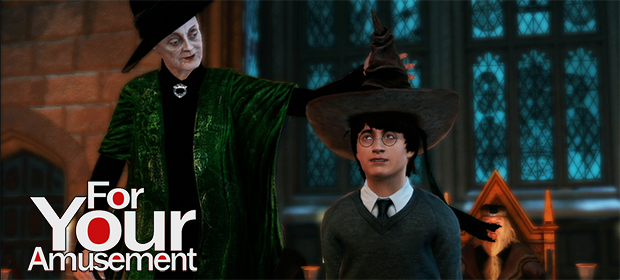 For Your Amusement: Harry Potter for Kinect