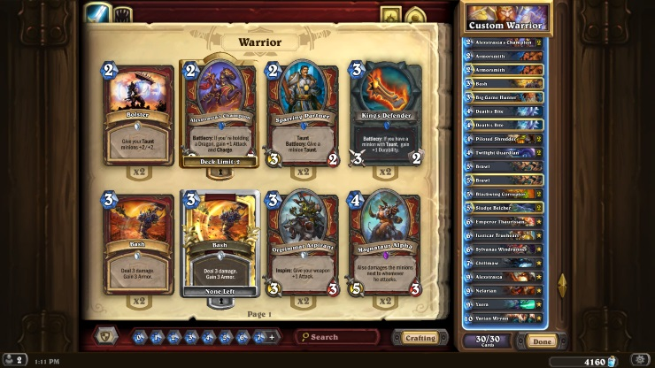 Hearthstone tournament review