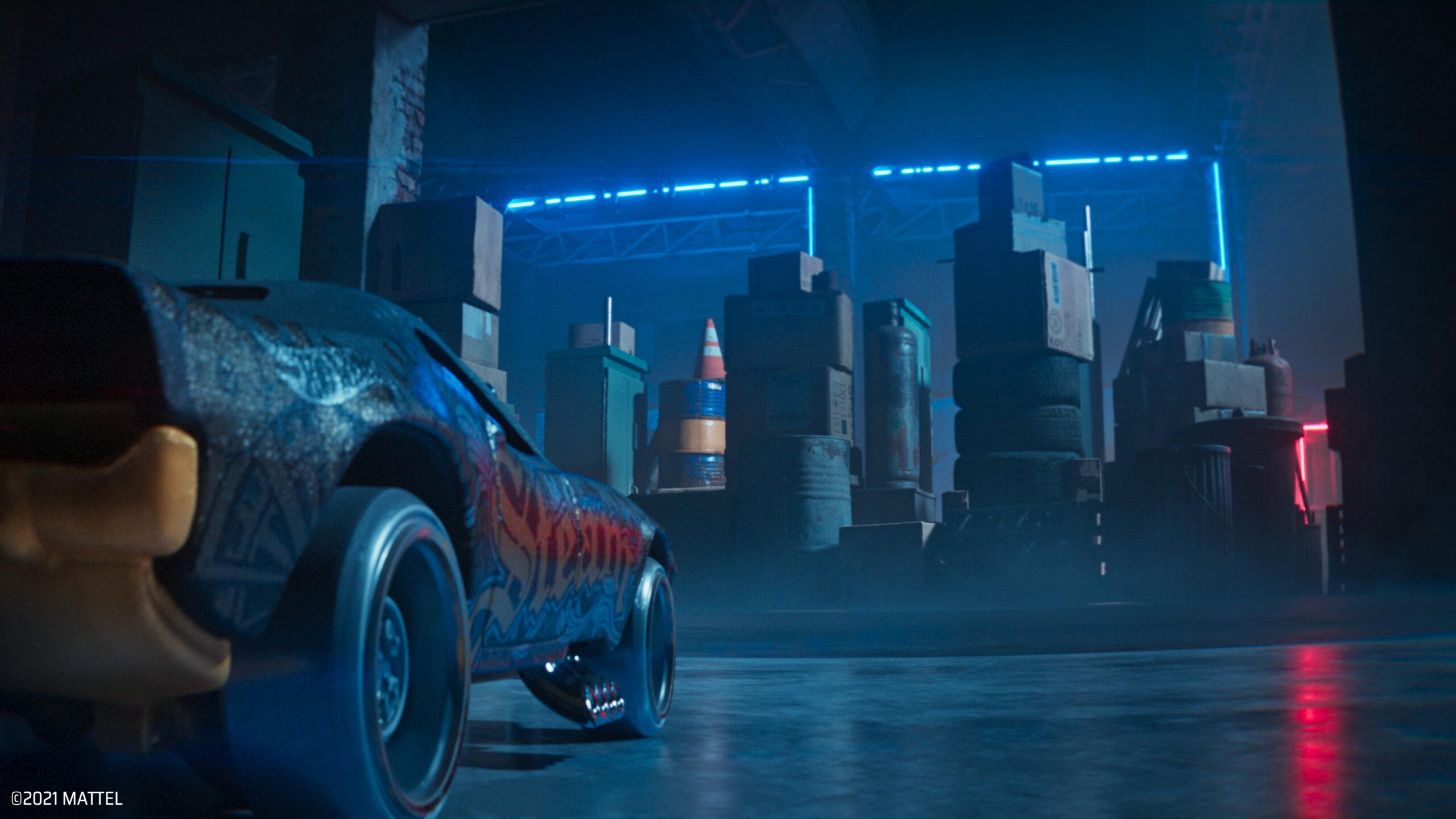 Hot Wheels Unleashed Garage