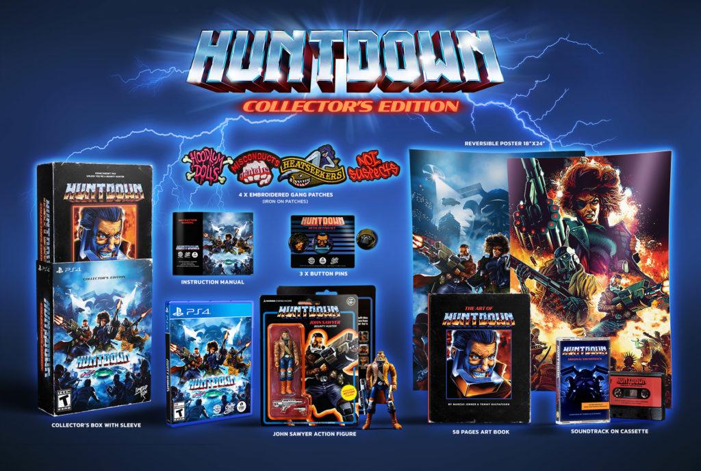 Huntdown collector's edition