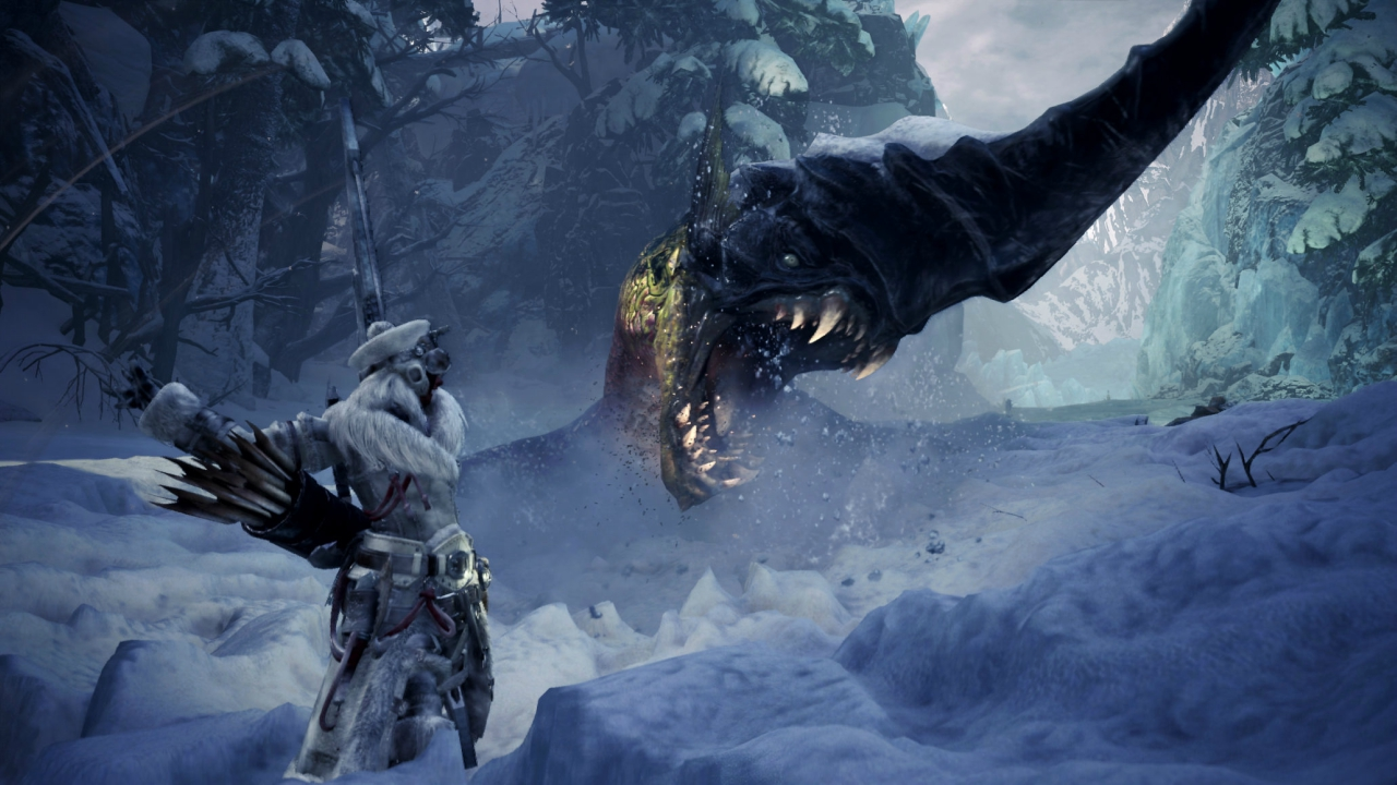 A new challenger approaches in Iceborne