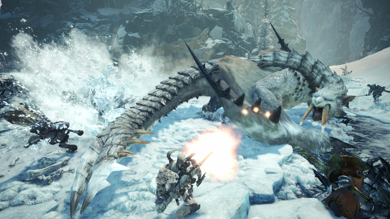 Hunt the Barioth in Iceborne