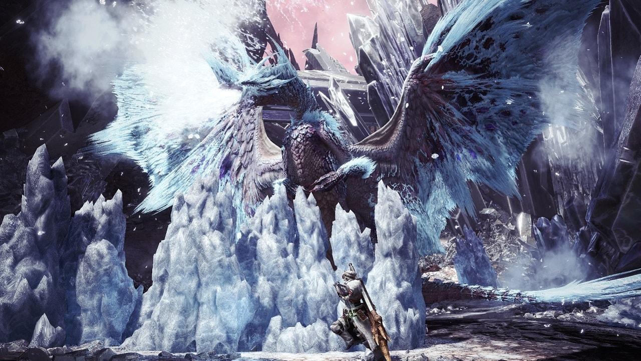 Velkhana is one of the new Elder Dragons in Iceborne