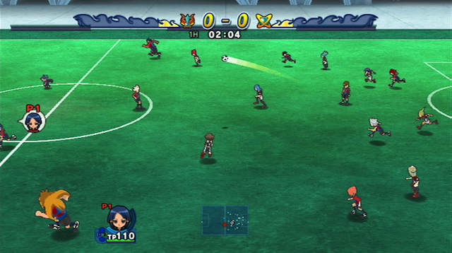 Inazuma Eleven: Strikers - Screenshot 01