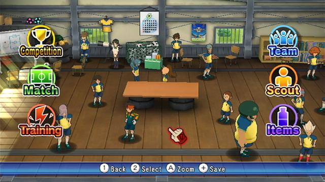 Inazuma Eleven: Strikers - Screenshot 02
