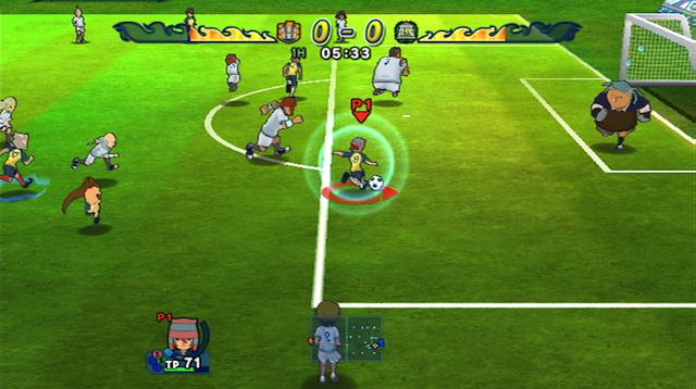 Inazuma Eleven: Strikers - Screenshot 03