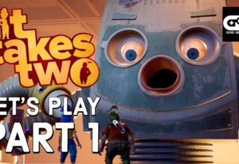 It Takes Two Let's Play part one