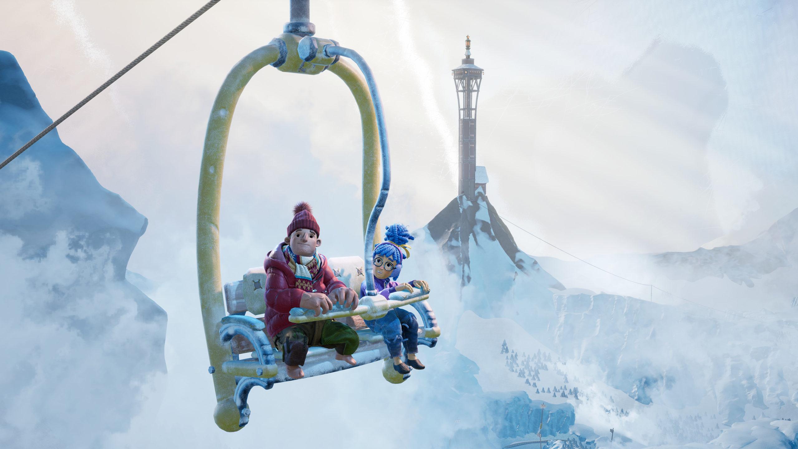 It Takes Two Snow globe