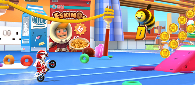 Hello Games Announce Endless Runner Joe Danger Infinity For iOS
