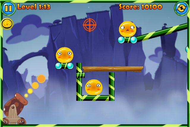 Jelly Cannon Reloaded - Screenshot