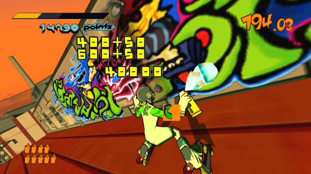 Jet Set Radio - Screenshot 1