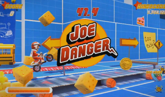 Joe Danger: Special Edition - Logo Jump