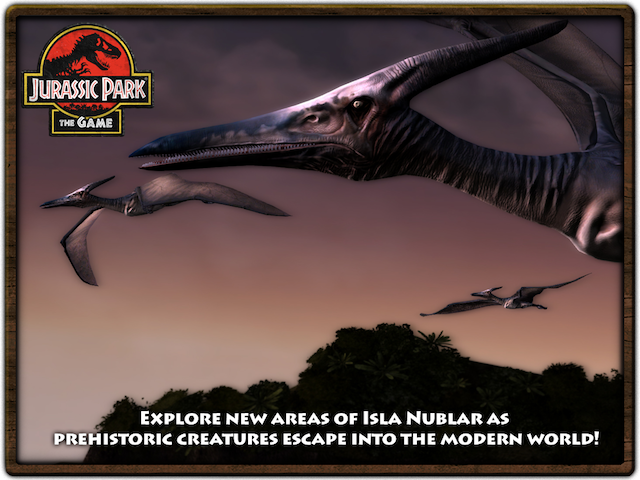 Jurassic Park: The Game - Pteranodon