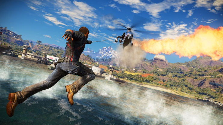 Just Cause 3 Reeling in