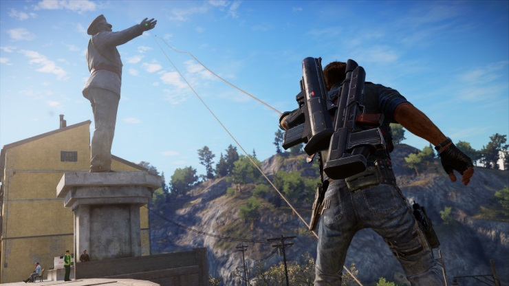 Just Cause 3 Statue Destroyed