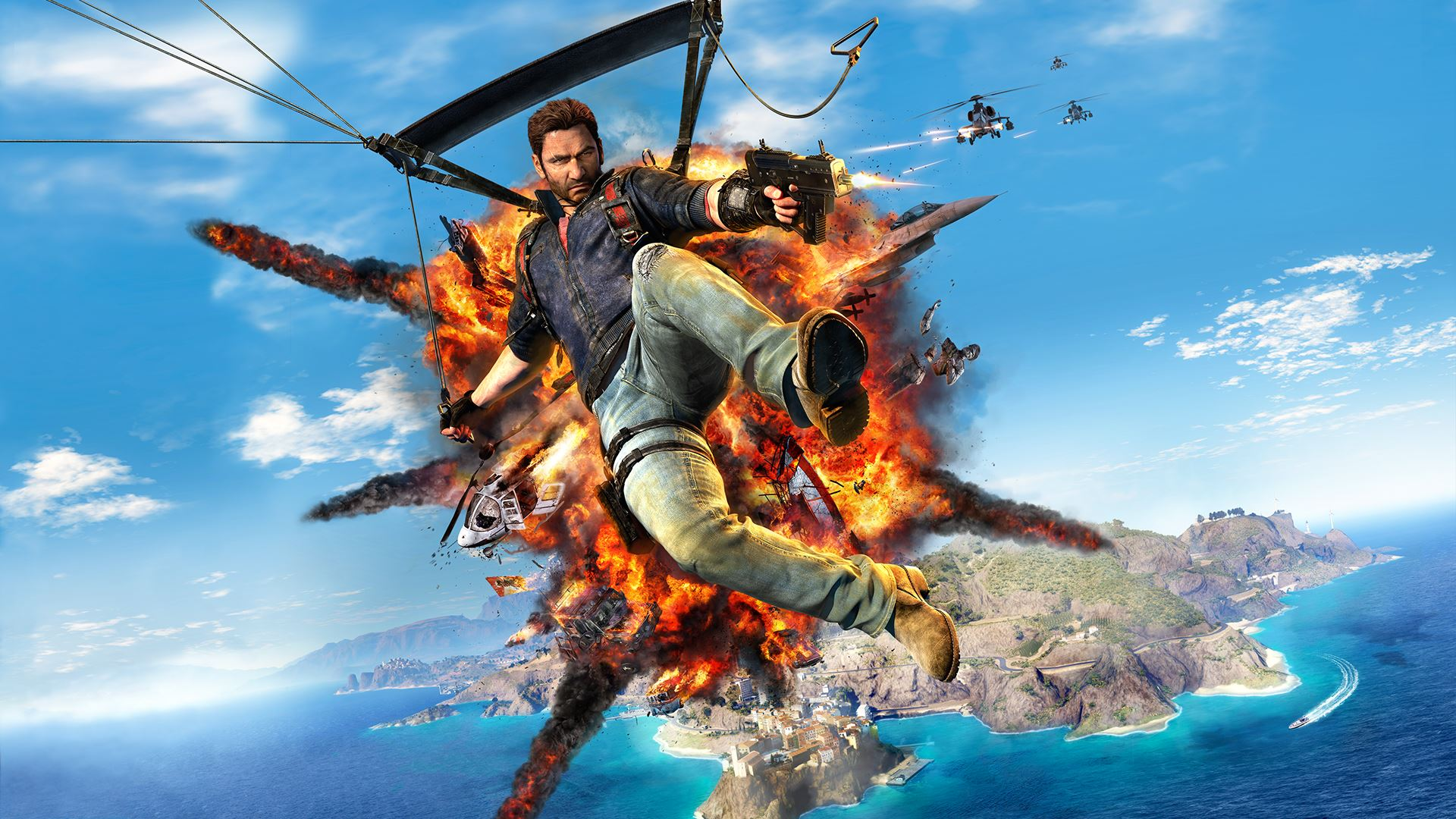 how to kill blackhand just cause 3
