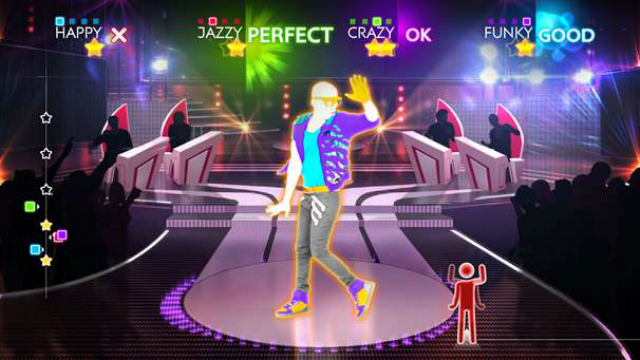 Just Dance 4 - Screenshot 01