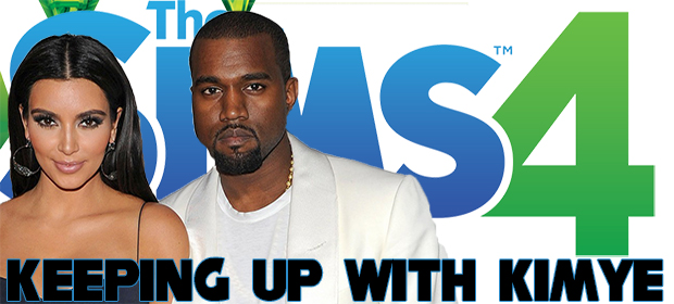 The Sims 4: Keeping Up With Kimye #001