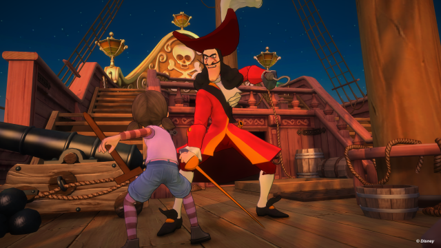 Kinect Disneyland Adventures - Captain Hook