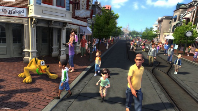 Kinect Disneyland Adventures - Main Street