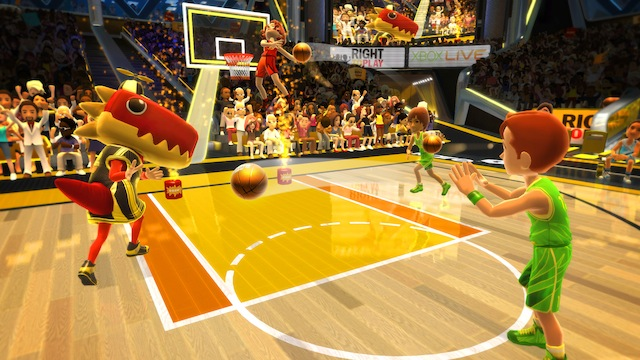 Kinect Sports 2 - Basketball Alley Oop