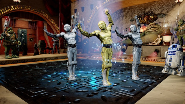 Kinect Star Wars - Dancing