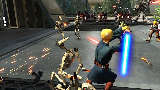 Kinect Star Wars - Deflecting