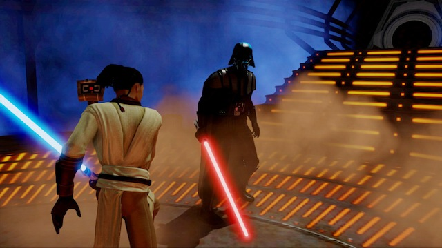 Kinect Star Wars - Duels of the Fate