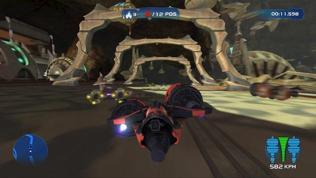 Kinect Star Wars - Pod racing