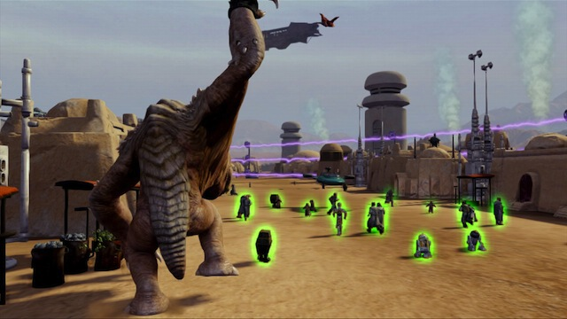 Kinect Star Wars - Rancor
