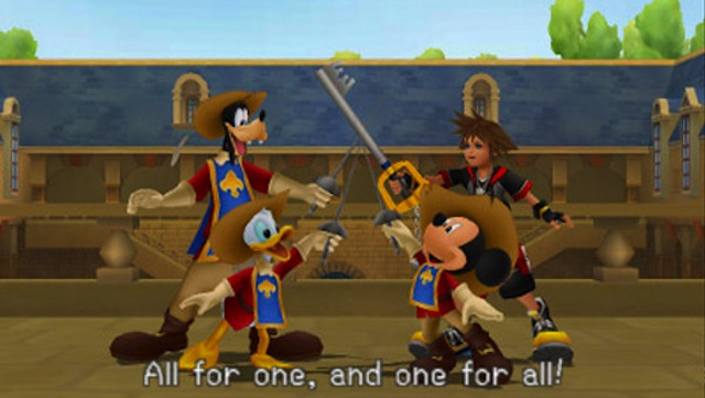 Kingdom Hearts 3D - Disney