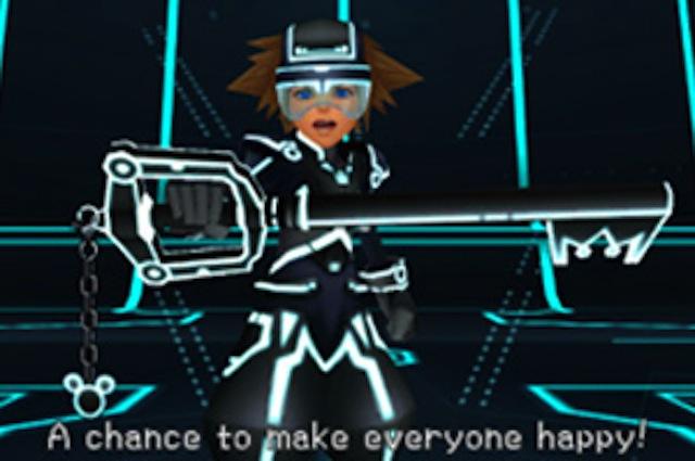 Kingdom Hearts 3D - Tron