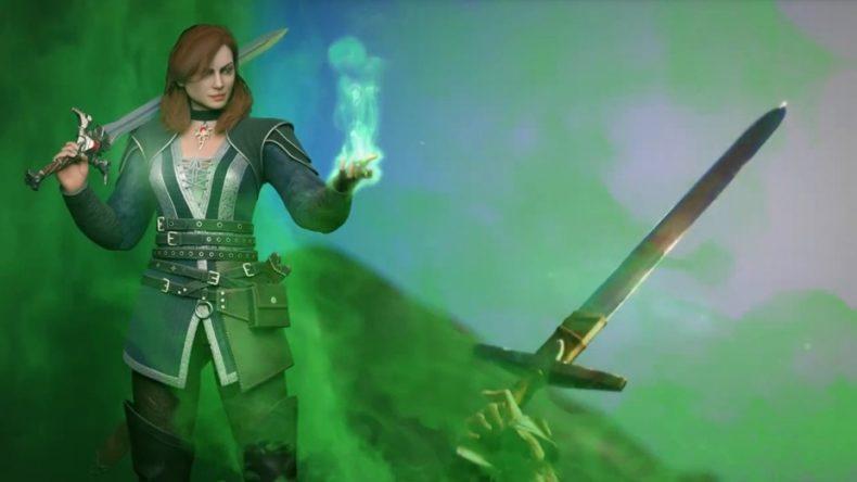 King's Bounty II Third Playable Character Elisa