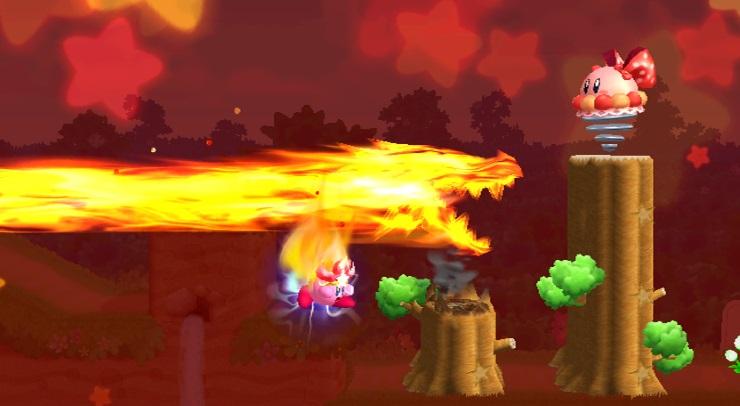 Kirby Wii Screen