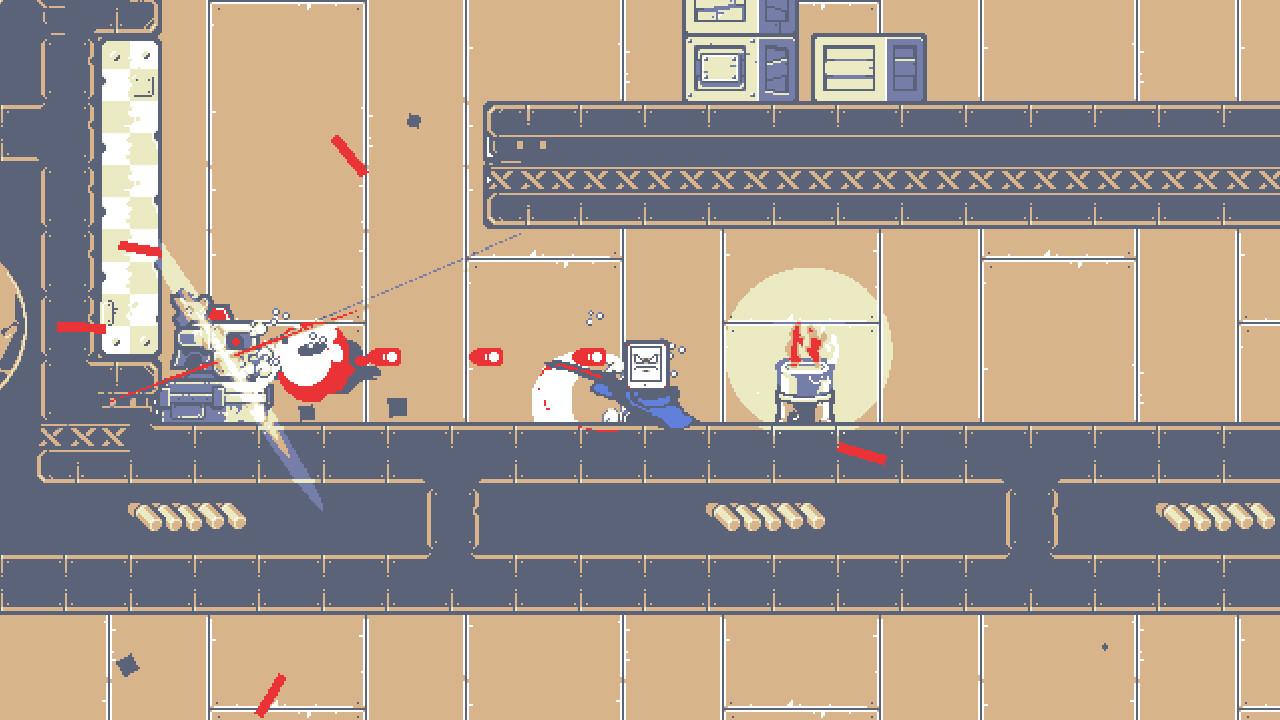 Kunai's combat: screenshot