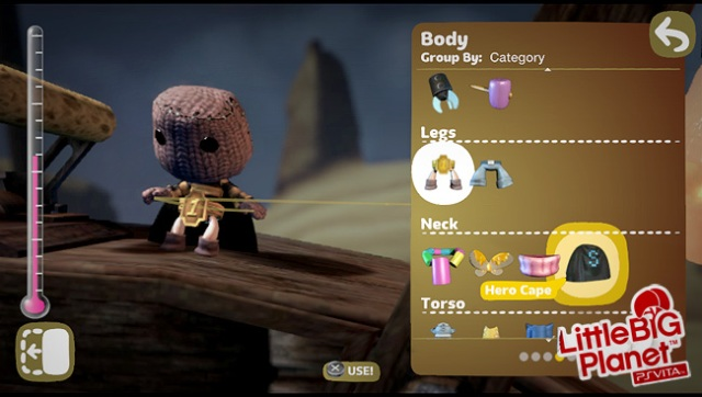 LittleBigPlanet Vita Preview: Touch My Sackboy