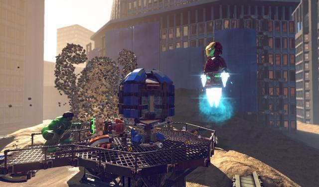Avengers vs. Sandman - LEGO Marvel Super Heroes