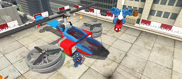 LEGO Marvel _SpiderCopter_01