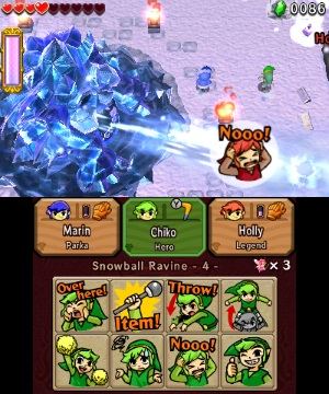 Legend of Zelda Tri Force Heroes review 3DS