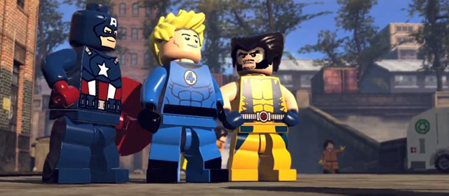 LEGO Marvel Super Heroes Trailer Released