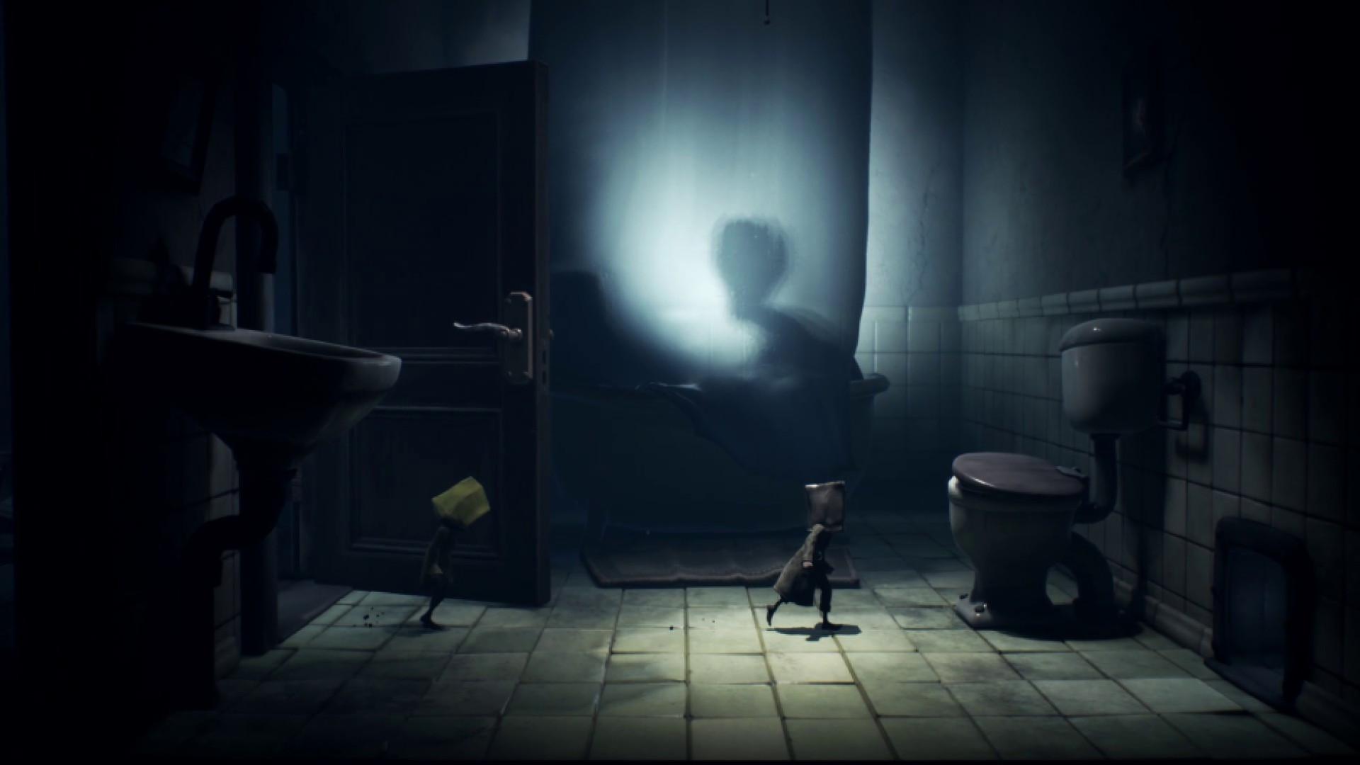 Little Nightmares II bathroom