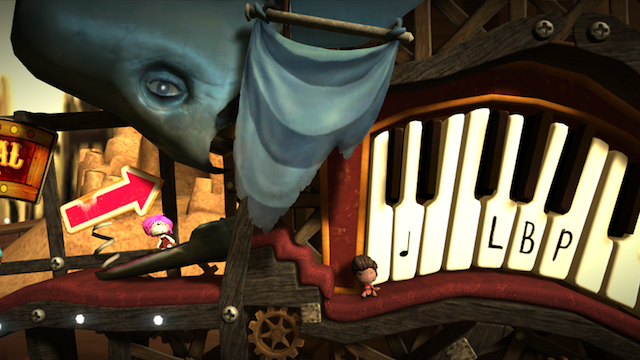 LittleBigPlanet Vita - Screenshot 1