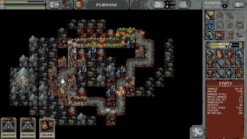 Loop Hero gameplay