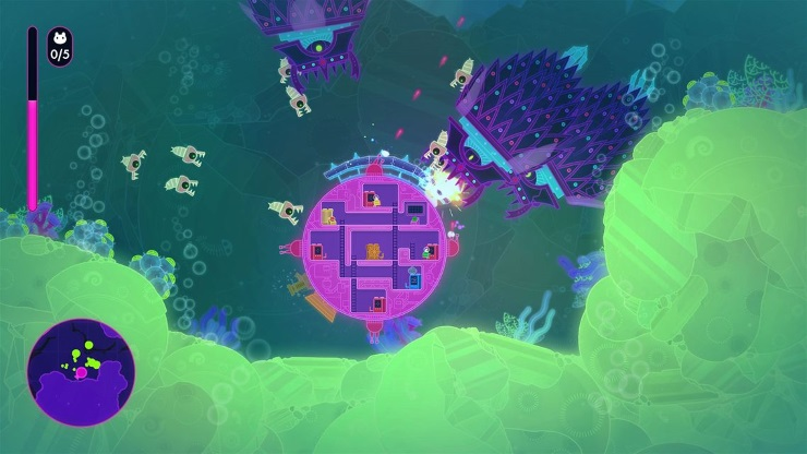 Lovers in a dangerous spacetime review screenshot