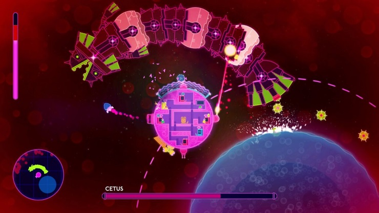 Lovers in a dangerous spacetime xbox review