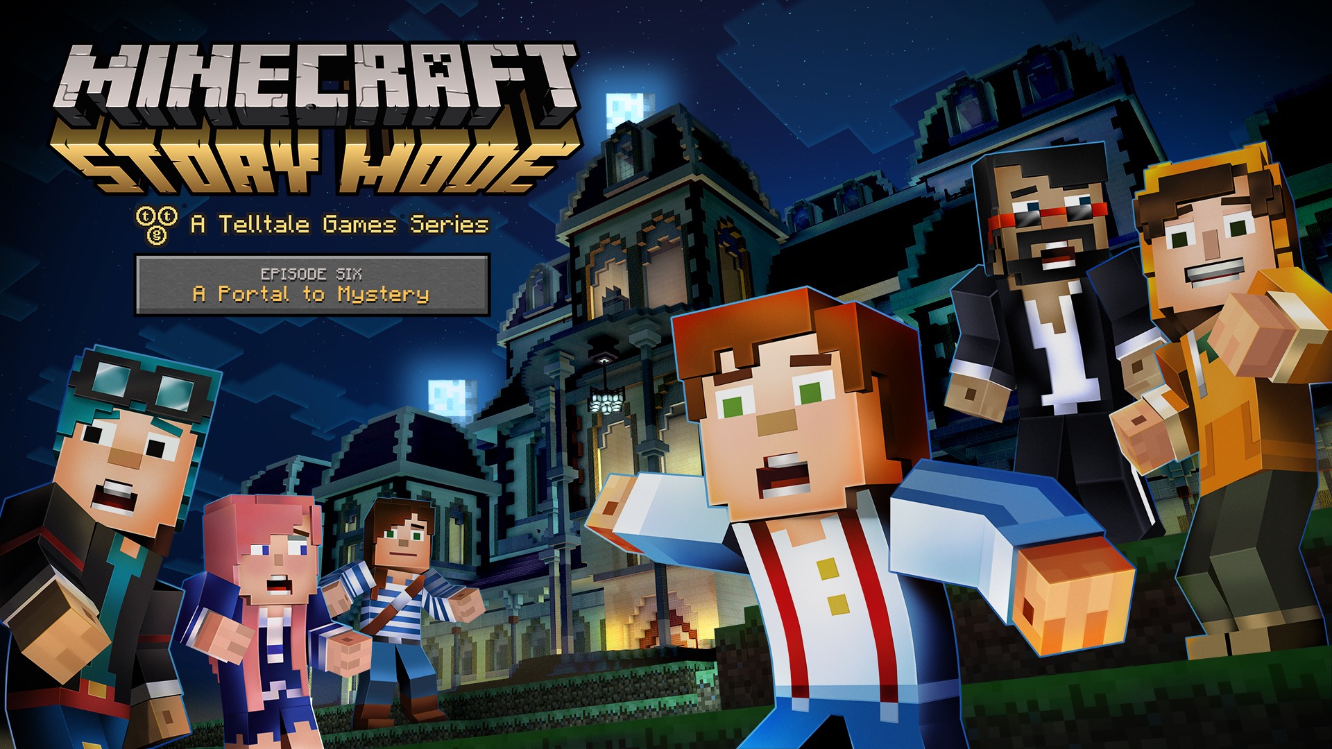Minecraft Story Mode Continues With Episode 6 A Portal To