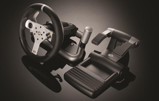 Mad Catz Wireless Force Feedback Racing Wheel