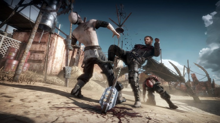 Mad Max PS4 review combat